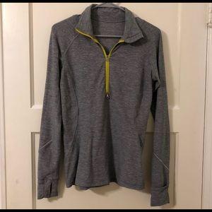 Lululemon 1/2 zip grey sweater